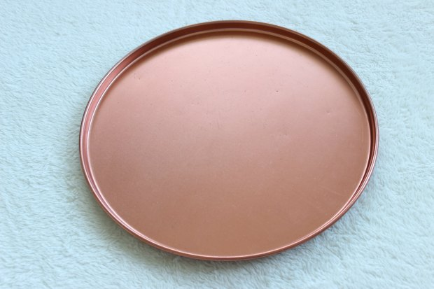thrifting opshopping haul copper tray