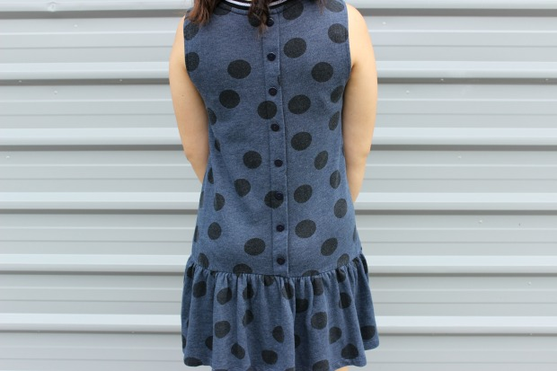 asos polka dots dress