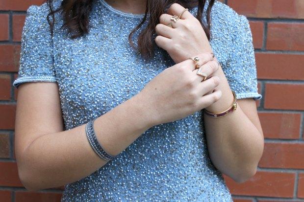 beaded top rings bangles jewellery ootn ootd