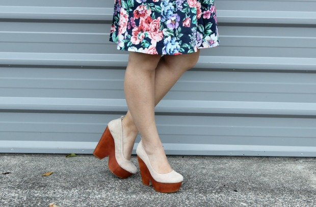 floral skirt ootd review australia