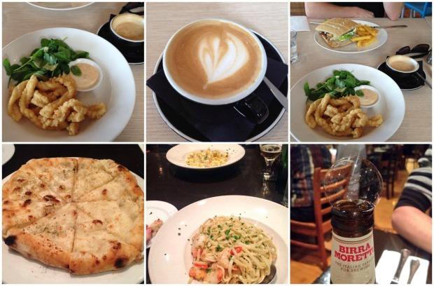 may highlights food cafe italian