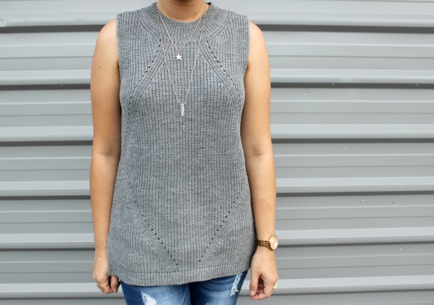 mirrout knit top