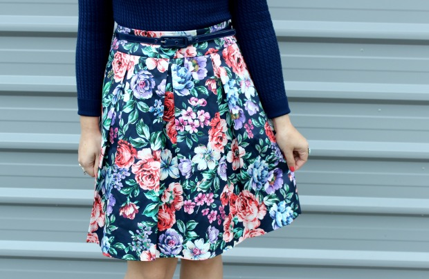 review australia flora garden skirt