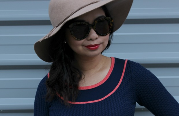 review australia megan jumper ootd outfit hat sunglasses