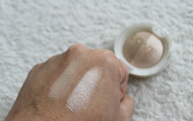 love cosmetics face shimmer highlighter