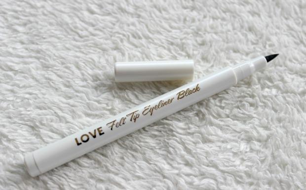 love cosmetics felt tip eyeliner