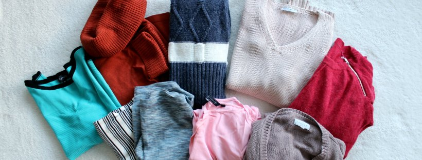 winter thrift haul opshopping thrifting