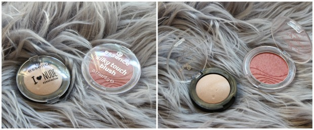 essence cosmetics blush eyeshadow