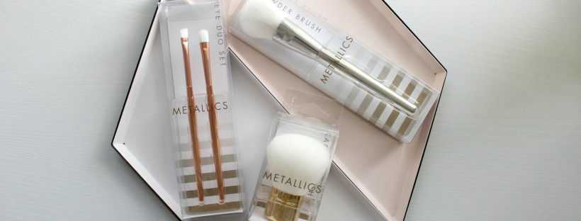 kmart metallics brushes