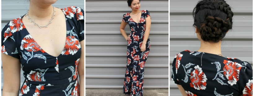 maxi dress ootd outfit