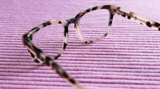 clearly.co.nz main + central wednesday blush tort eyeglasses