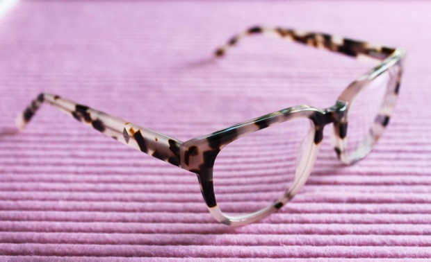clearly.co.nz main + central wednesday blush tort glasses