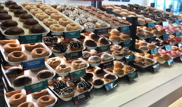 krispy kreme nz doughnuts