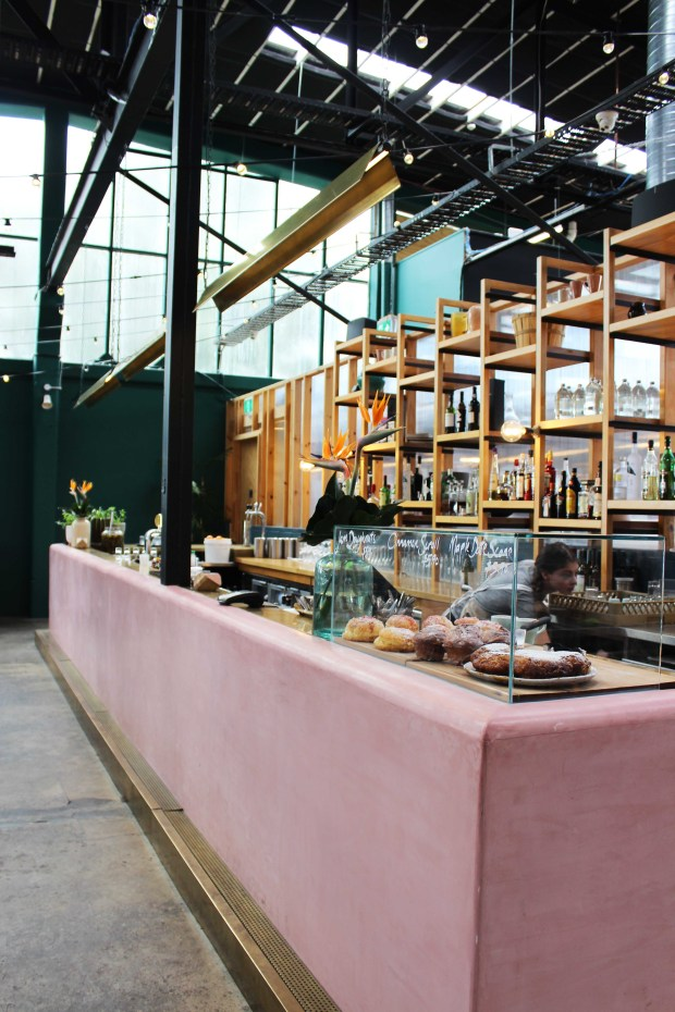 Ampersand Eatery interior Auckland
