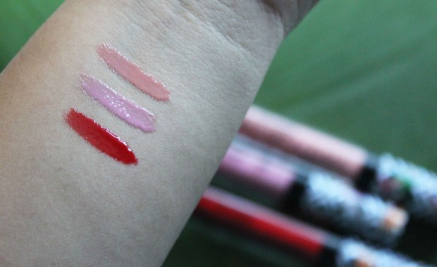 Flights of Fancy Wet N Wild lip gloss swatches.jpg