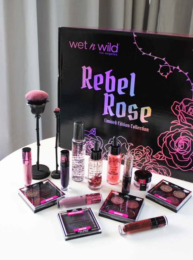 wetnwild rebel rose collection
