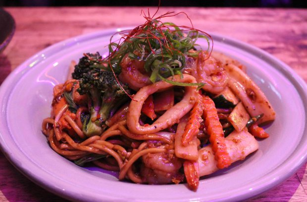 @Bangkok spicy noodle