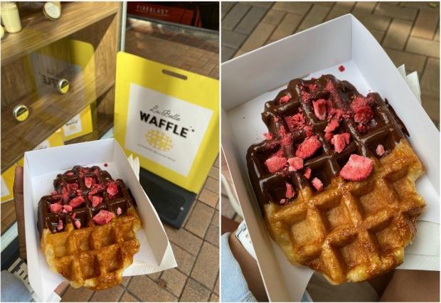 La Belle Waffle Wellington