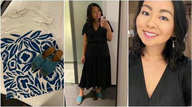 opshop haul & outfit