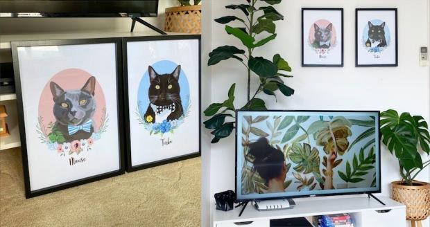 buttersdaydream cat portraits