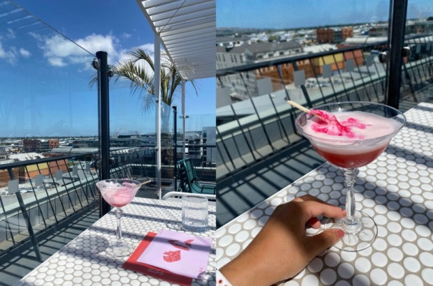 Pink Lady rooftop bar